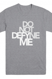 Defyne Me Tee (Heather Grey)