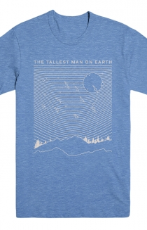 Range Tee (Heather Blue)