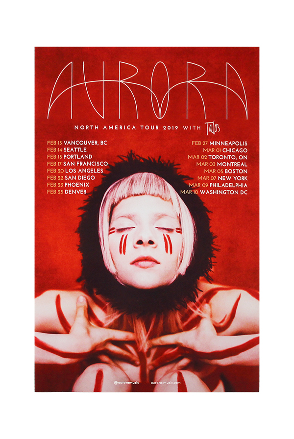 North American Tour Poster