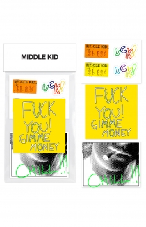 MINI MIDDLE KID Sticker Pack