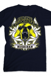 Michigan Bear (Navy)