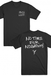 No Time For Negativity Tee (Black)