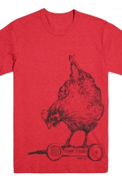 Chicken Tee (Red)