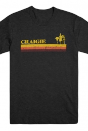 Craigie California Tee (Heather Black)