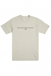 Places We Don't Know T-Shirt (Beige)