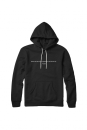 Places We Don't Know - Hoodie (Black)