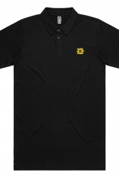 Sunflower Polo (Black)