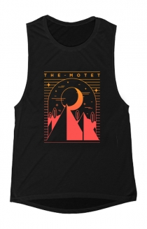 Midnight Ladies Muscle Tank (Black)