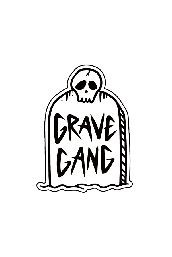 Tombstone Enamel Pin Pin - Grave Gang Pins - Online Store on
