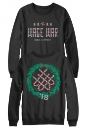 Wreath Crewneck (Black)