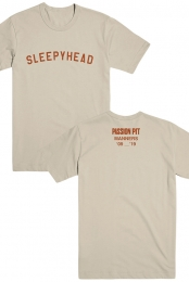 Sleepyhead Tee (Tan)