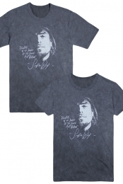 Storm Boy Face Lyric Tee (Vintage Black)