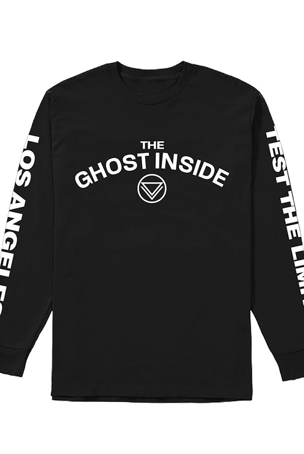 Test The Limit Long Sleeve Tee (Black)
