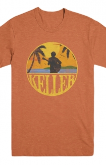 Sunset Tee (Orange)