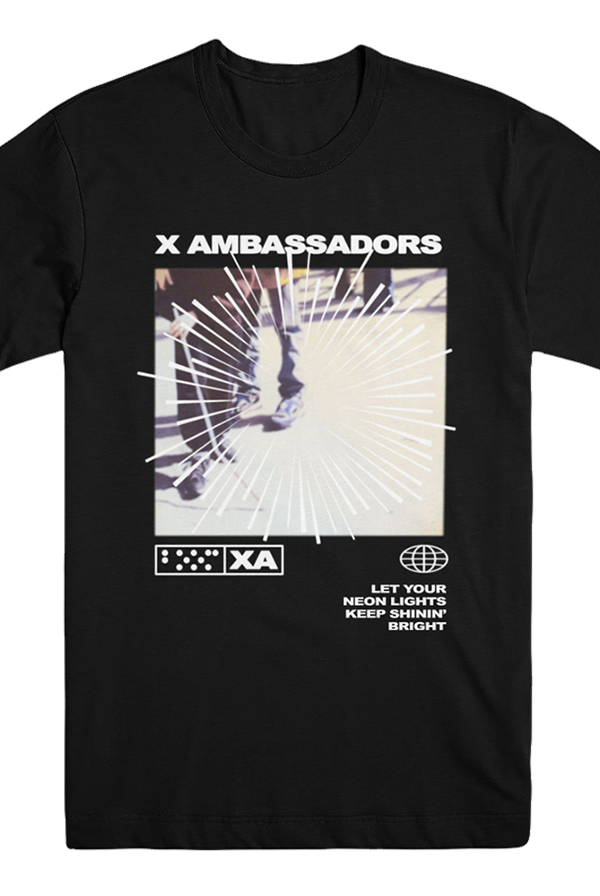 X Ambassadors Official Merchandise - T-Shirts