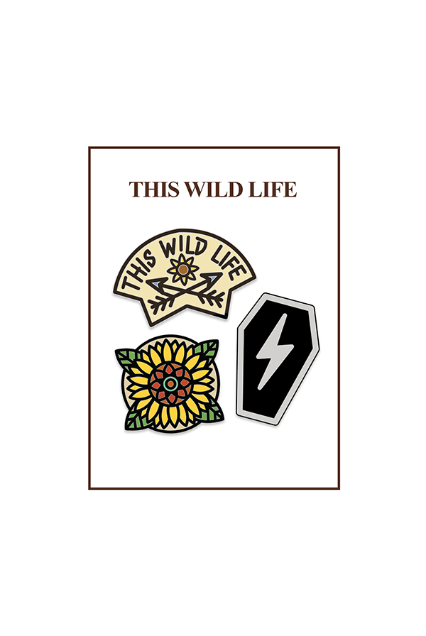 Enamel Pin Pack (Set of 3)