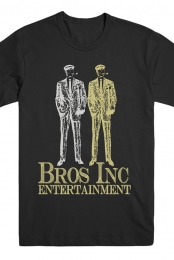 Bros Inc. Entertainment Tee (Black)