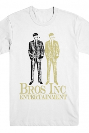 Bros Inc. Entertainment Tee (White)