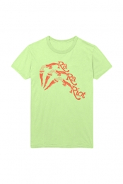 Diver Tee (Lime)