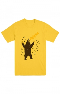 Bear Tee (Yellow)