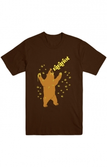 Bear Tee (Brown)