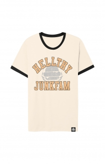 Junkfam Tee (Heather Tan/Brown)