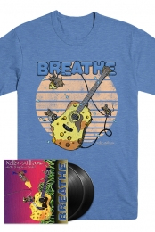 Breathe Unsigned Vinyl + T-Shirt bundle