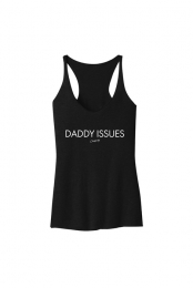Daddy Issues Tank (Black)
