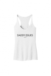 Daddy Issues Tank (White)
