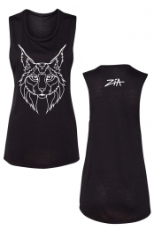 Outline Cat Ladies Muscle Tank