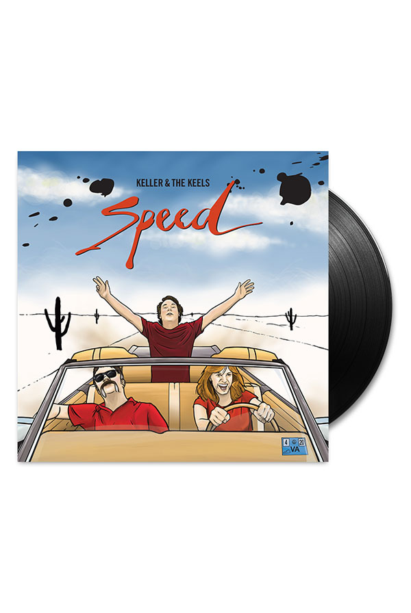 Speed Vinyl (Signed by Keller) + Instant Grat