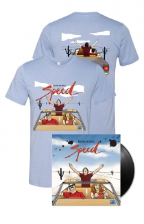 Speed Vinyl + T-Shirt + Digital Download + Instant Grat