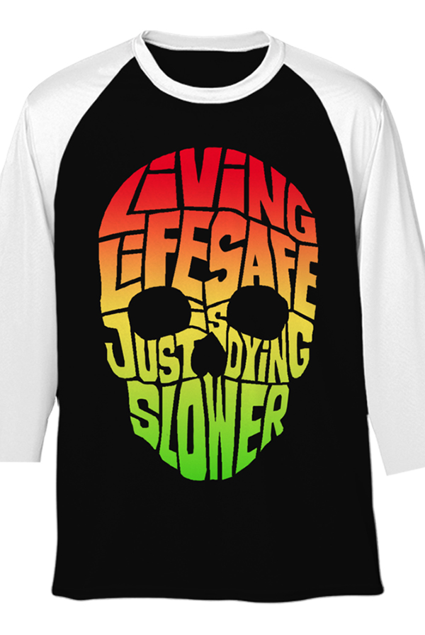 Living Life Safe Raglan