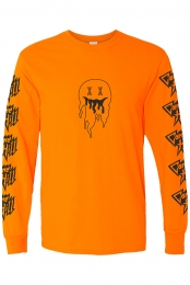 Everywhere I Go Long Sleeve - Orange