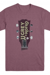 Guitar Head Tee (Maroon Triblend)