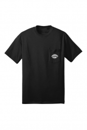 Eye Pocket Tee (Black)