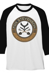 Shovel Crest Raglan (White/Black)