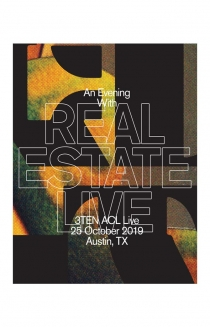 An Evening With Real Estate - Limited Edition Austin Poster
