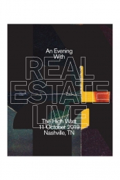 An Evening With Real Estate - Limited Edition Nashville Poster