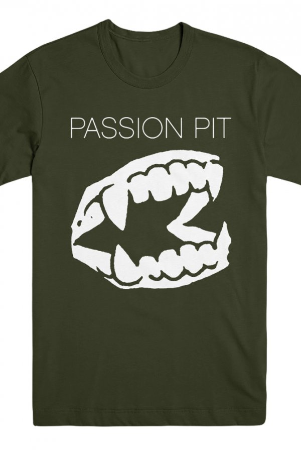Teeth Tee (Olive Green)