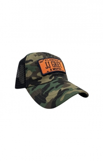 JJ Grey License Plate Hat (Camo)