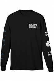 Braille Long Sleeve Tee (Black)