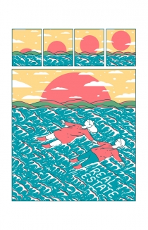 Limited Edition 'Float' Poster by Evan Cohen