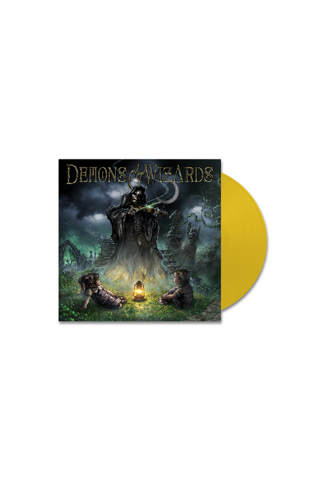 Demons & Wizards - Signed Double LP - Sun Yellow