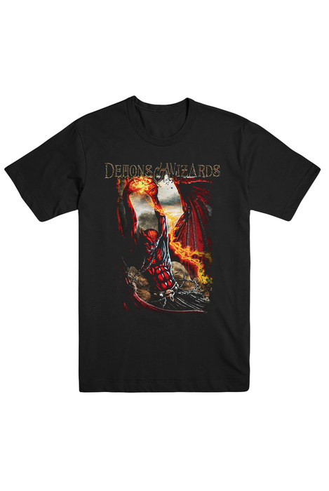 Touched By The Crimson King Tee (Black)