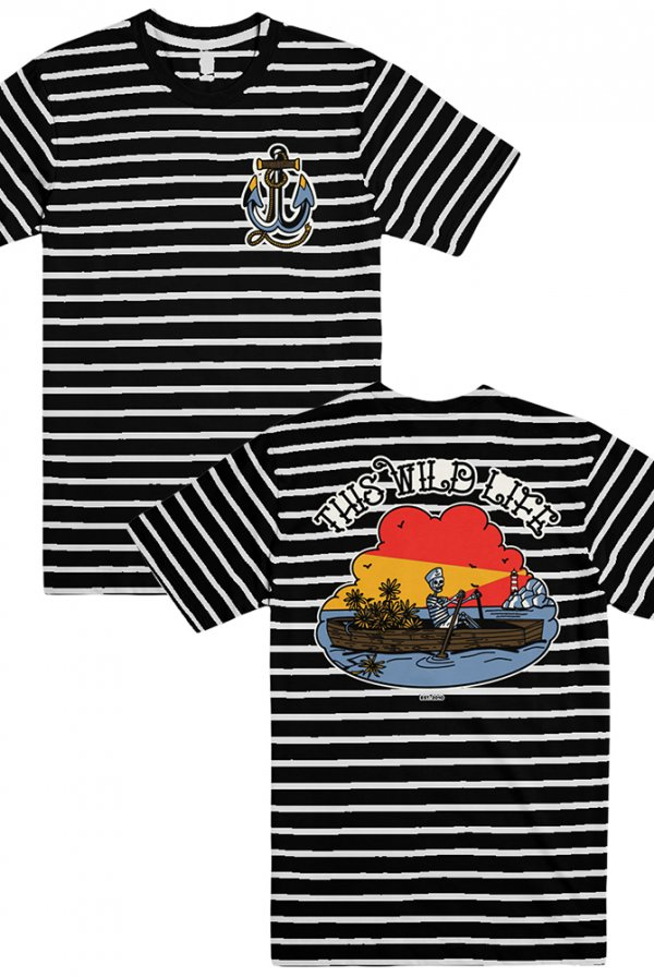 Row Bow Striped Tee
