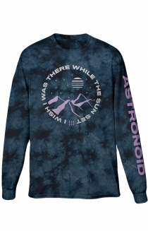 I Wish I Was There Long Sleeve Tee (Tie Dye)
