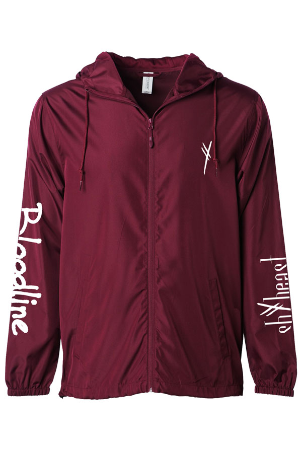 Bloodline Windbreaker (Maroon)