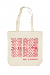 You're Welcome Tote Bag (Canvas)