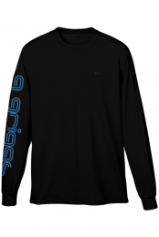 Unisex Q Griggs Long Sleeve Tee (Black)
